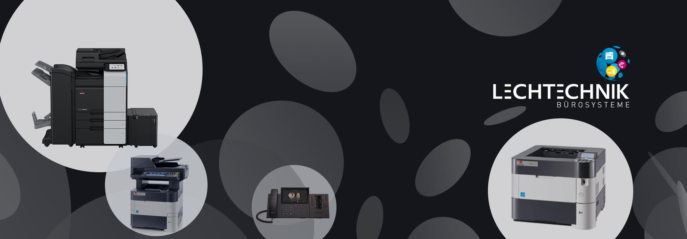 Drucker-Kopierer-Telefonanlagen
